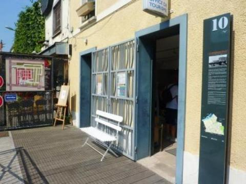 Espace d 39 information touristique saint ouen puces saint ouen - Ibis porte de clignancourt ...